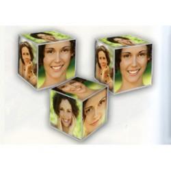 Cubo portafotos